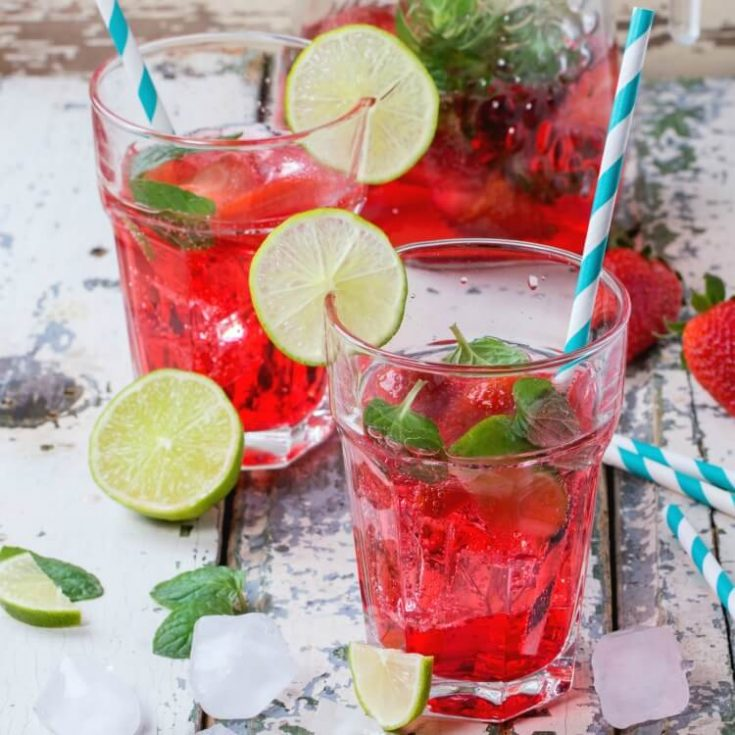 Make a Sonic Strawberry Limeade That Will Bring the Applause!