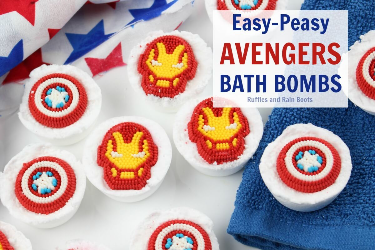 This fun Avengers bath salts craft will have any little one smiling