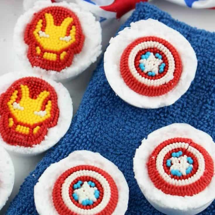 Avengers Bath Bombs Disney Craft