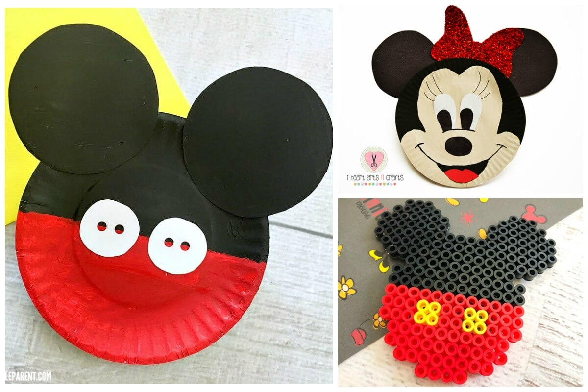 Mickey Mouse crafts for kids