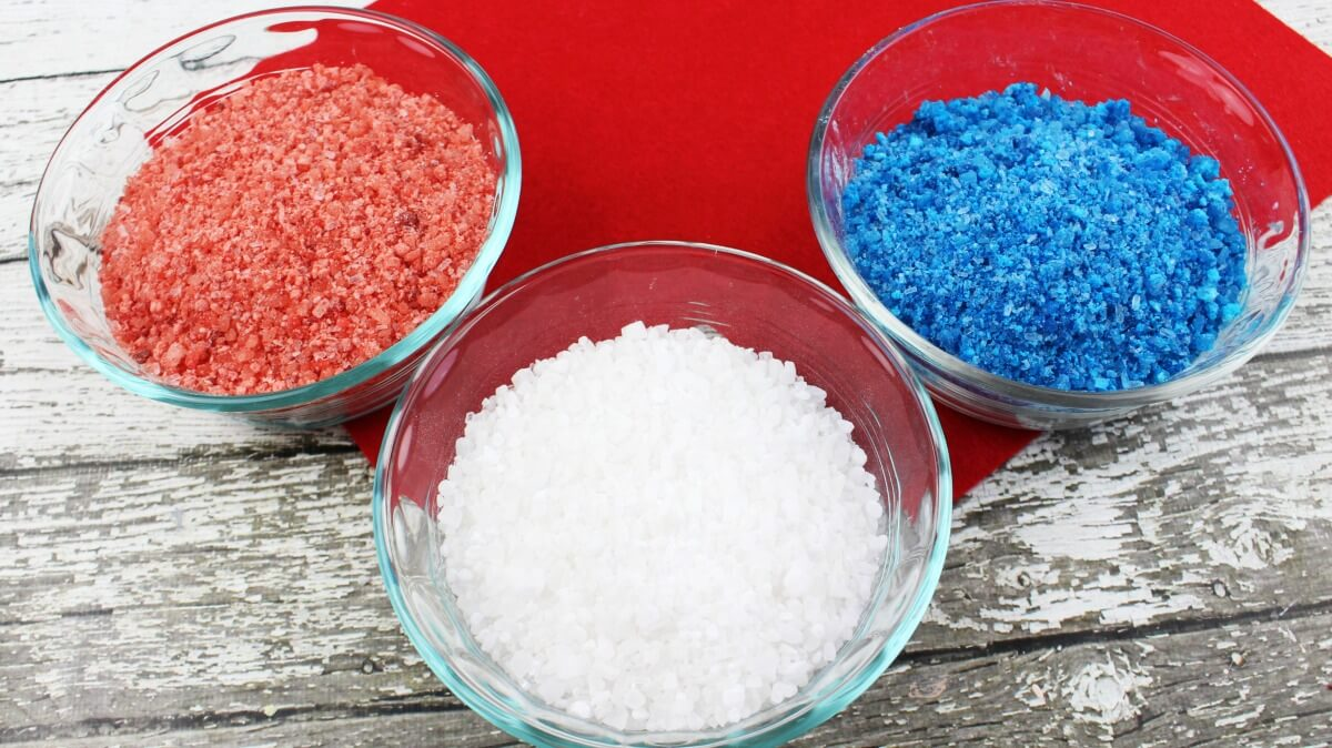 easy Avengers bath salts recipe for colored bath salts for Captain America Spiderman Iron Man
