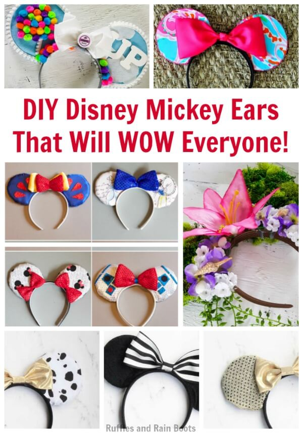 Ways To Diy Disney Mickey Ears That Will Wow Your Biggest Fan