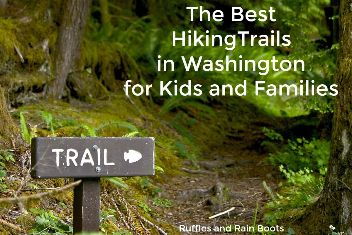 Washington State hiking with kids