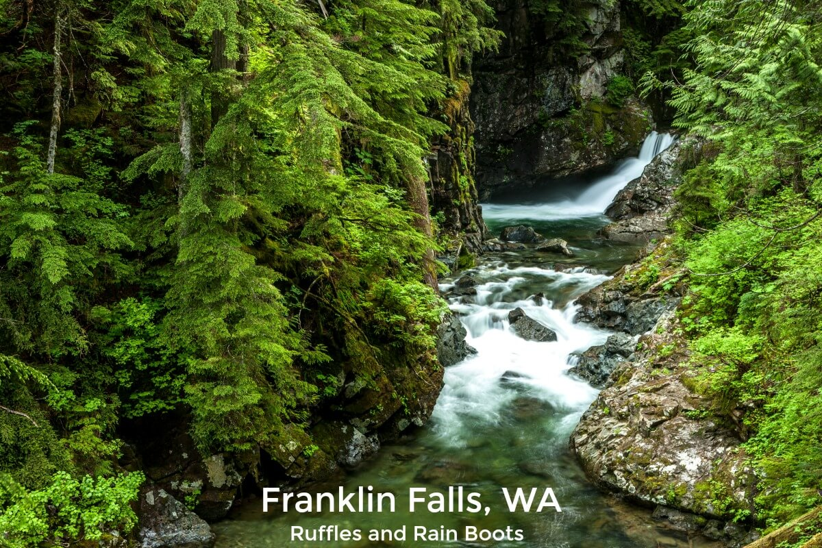 Best kept secrets of Seattle Washington Franklin Falls Trail