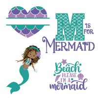 Free Mermaid SVG Files, Fonts, and Graphics for Crafts and Gifts