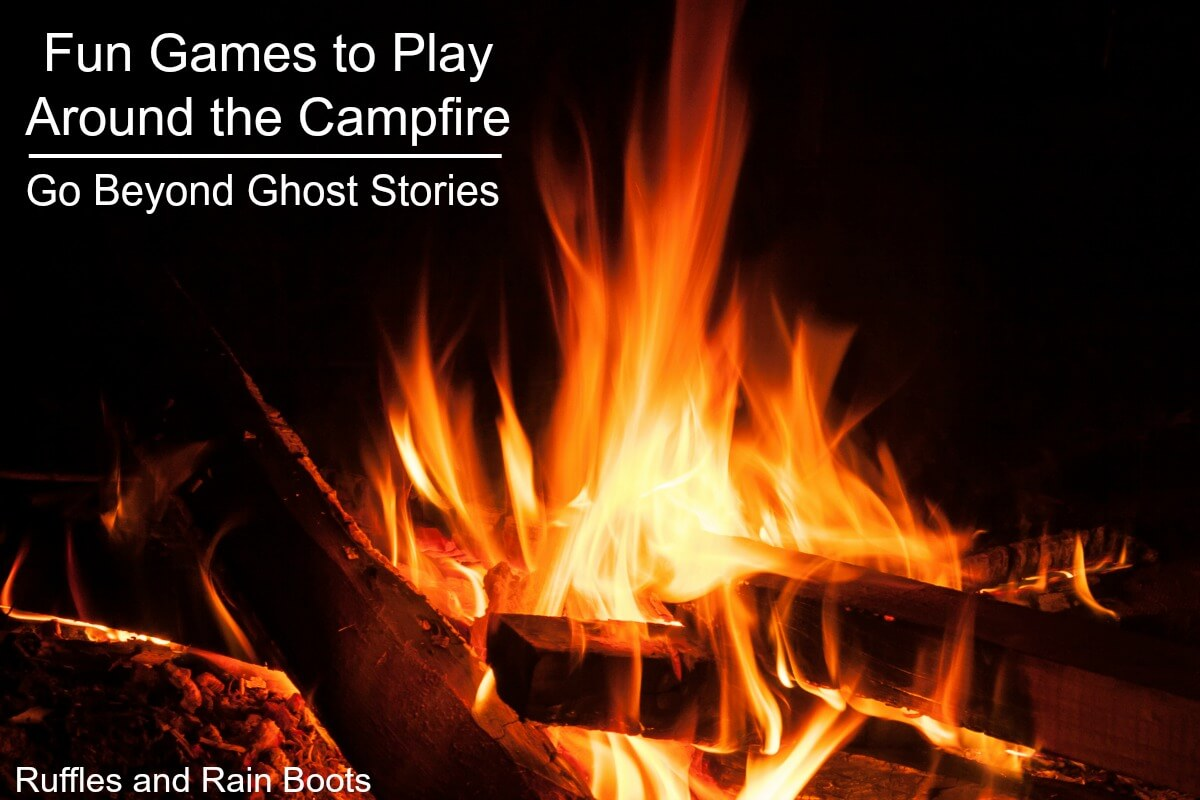 Fun Camping Games for Camping with Kids