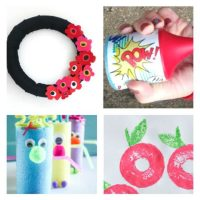 14 Amazing and FUN Pool Noodle Crafts