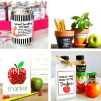20 Back to School Crafts and Teacher Appreciation Week Gift Ideas