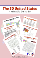 50 States Printable – Reading Comprehension, Games, and More!