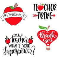 Free Teacher SVG Files – Appreciation Week and Back to School