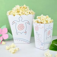 Moana Popcorn Box Printable – Family Movie Night Fun!