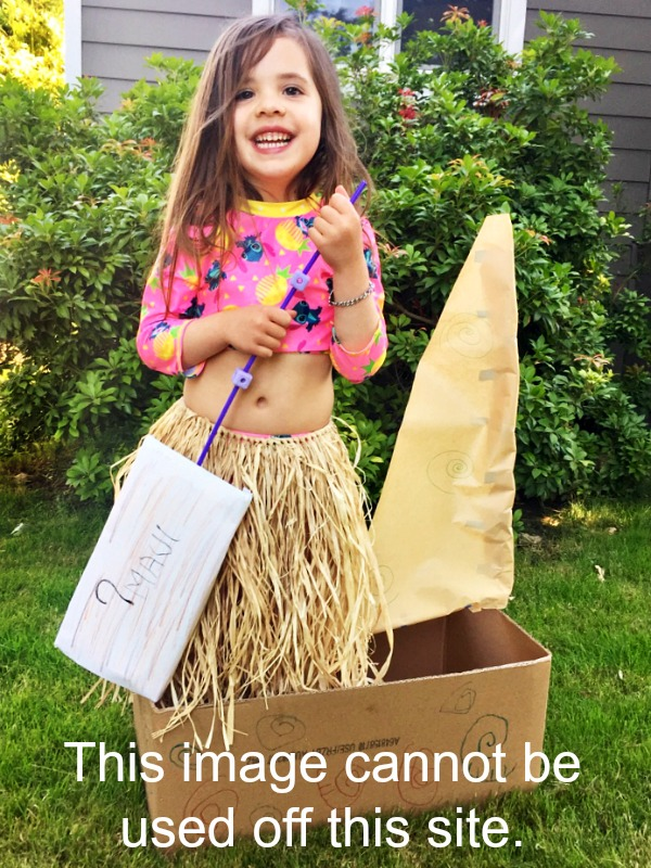 Moana Pretend Play
