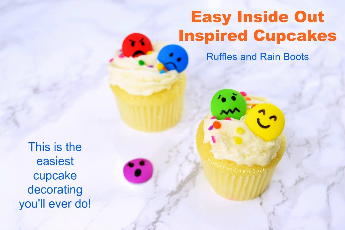 Inside Out Cupcakes – The Easiest Decorating EVER!
