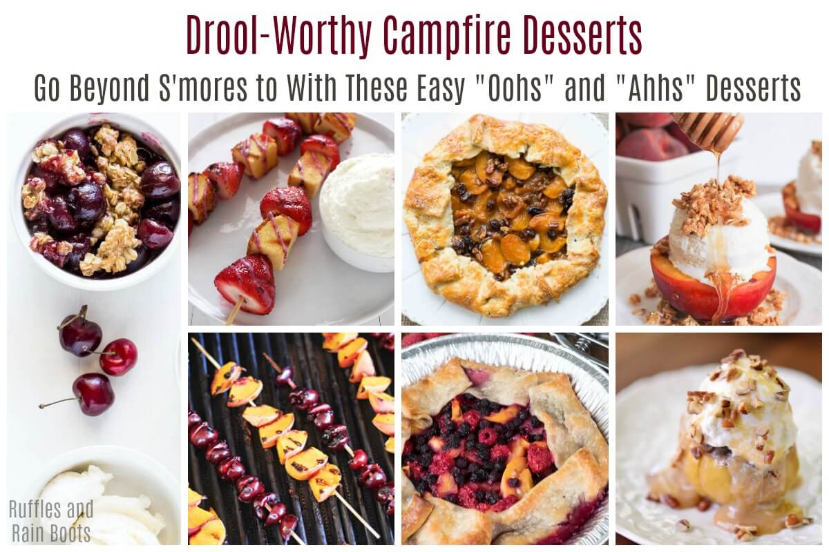 Drool Worth Campfire Desserts for Grilling on the Campfire