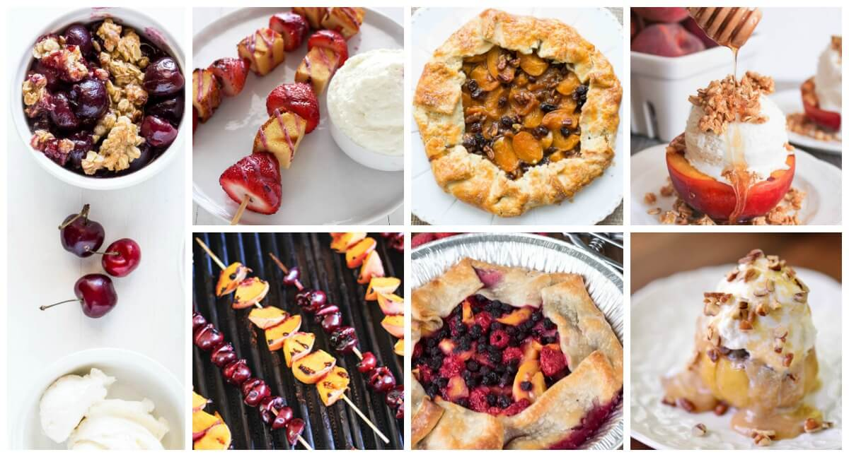 Grilled Desserts for Camping or Campfire Cooking