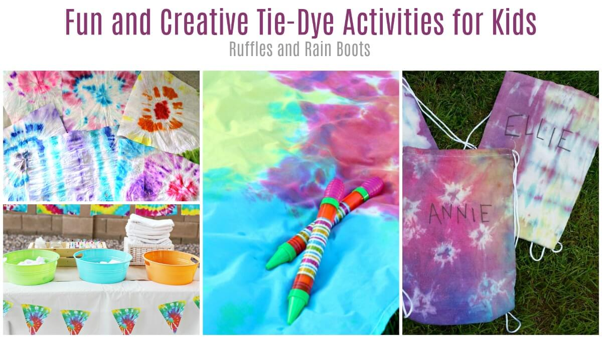 Tie-dye activities for teens