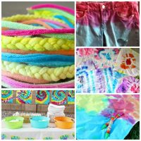 Tie-Dye Craft Ideas for Colorful Fun!