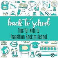 Back to School Tips for Kids for An Awesome First Day Back