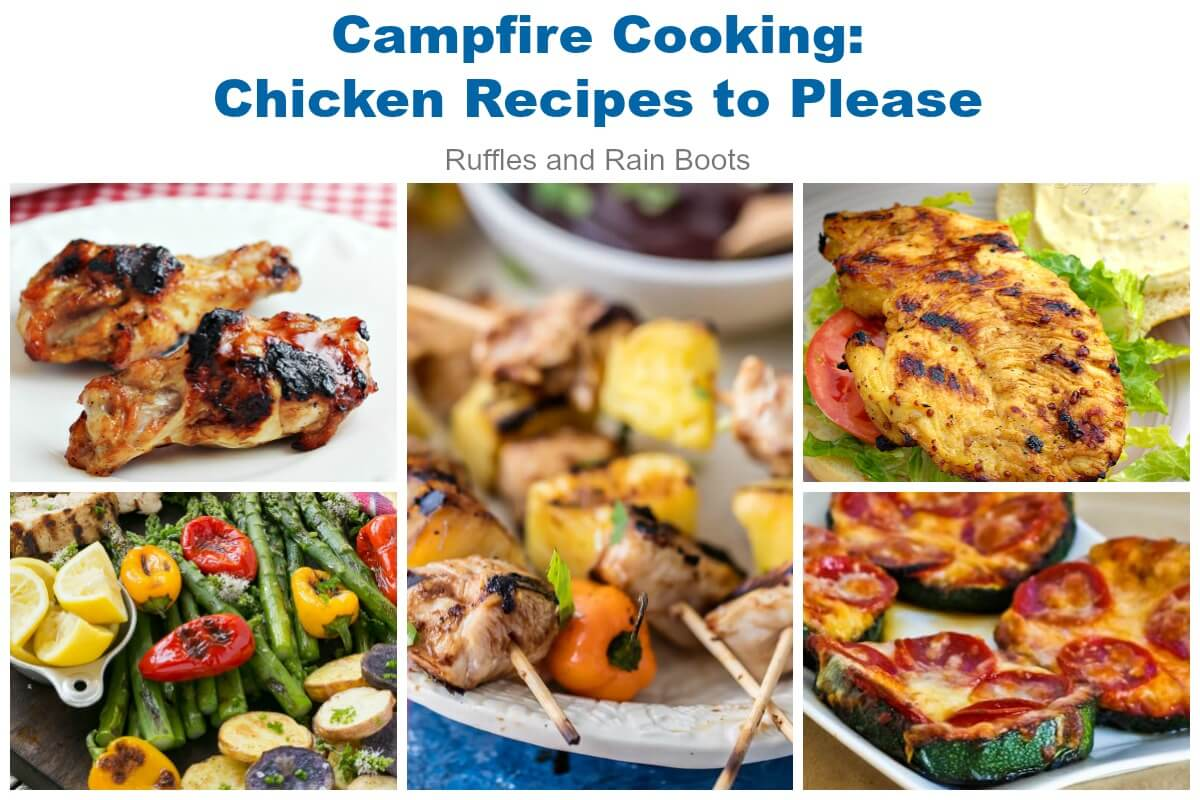Grilled Chicken Camping Recipes