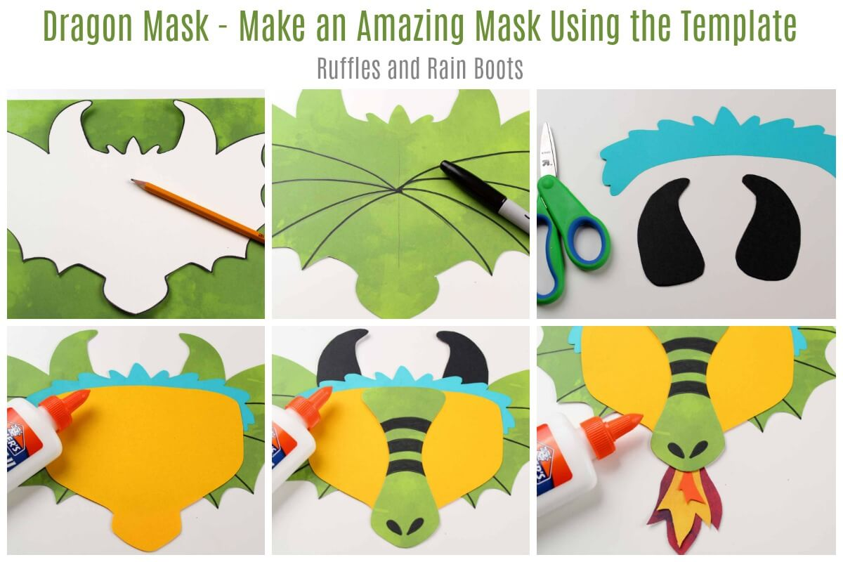 How to Make a Dragon Mask