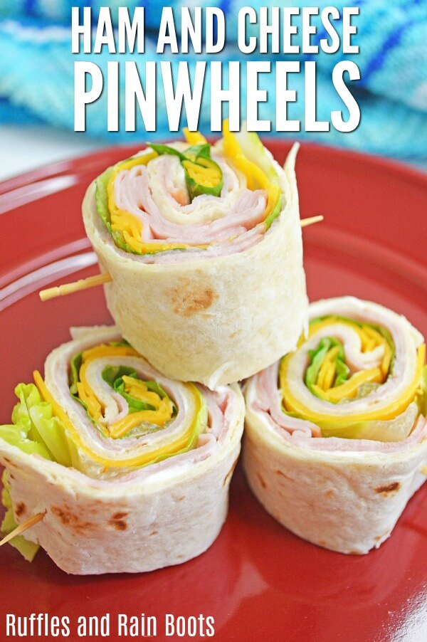 Make these easy ham and cheese pinwheels and you will have a school lunch they will actually eat!