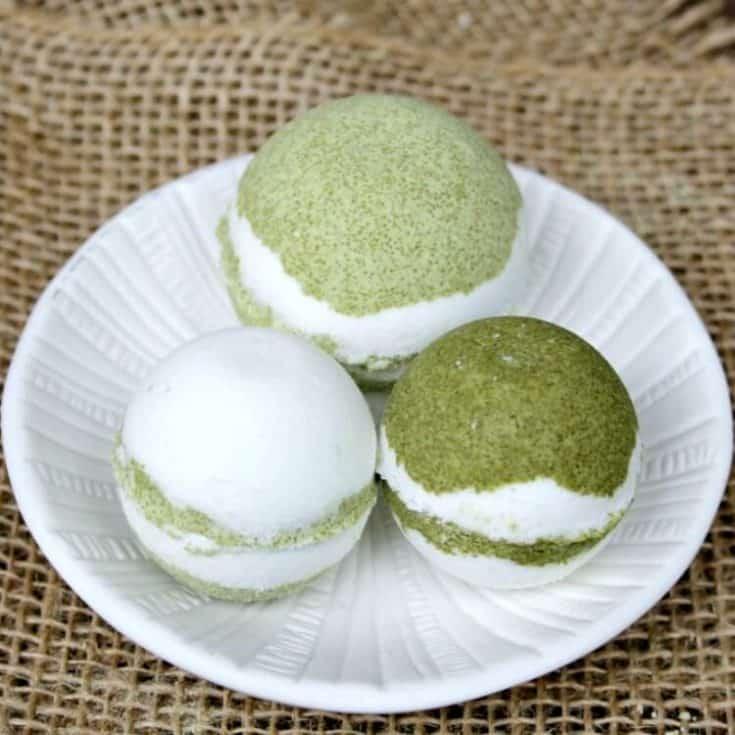 Matcha Green Tea Bath Bombs