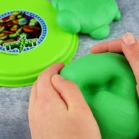 Butter Slime Recipe with the Teenage Mutant Ninja Turtles