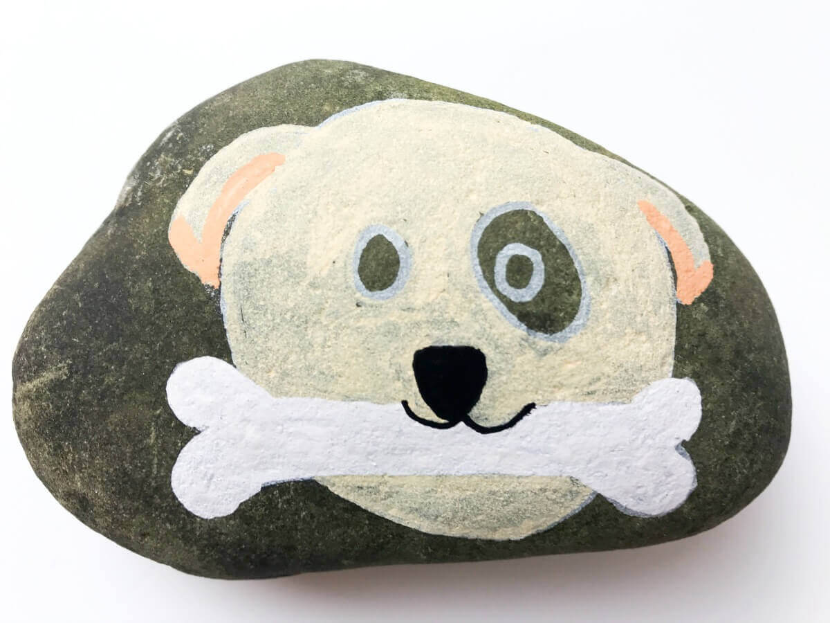 how to get started rock painting