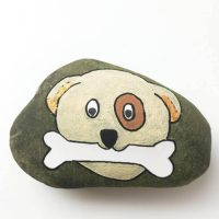 Dog Rock Painting Tutorial – Easy, Step-by-Step Dog