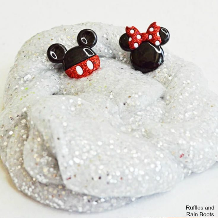 Mickey Mouse Slime Craft