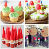 DIY Gnome Crafts for Kids (and Adorable Gnome Food)!