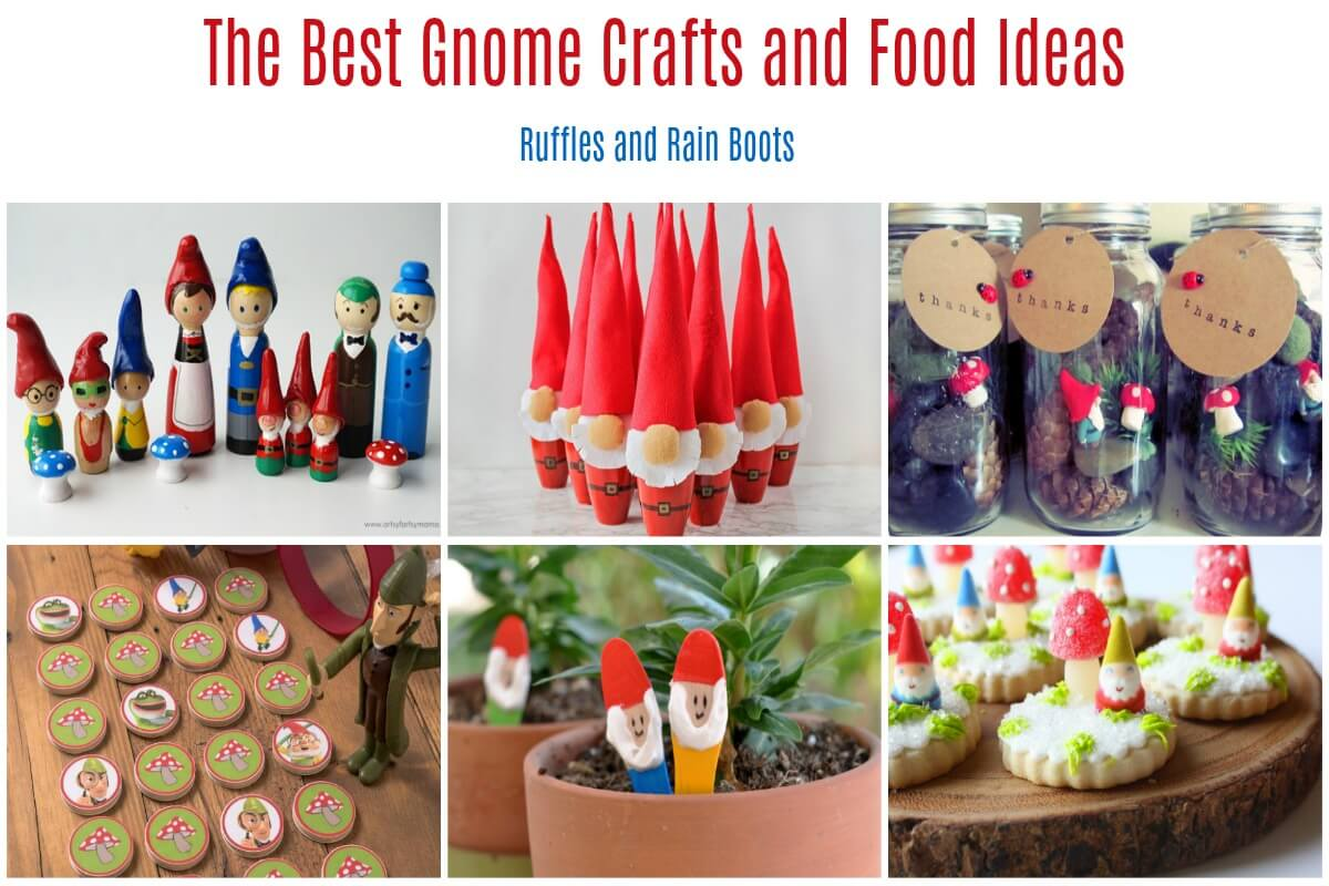 The Best Gnome Crafts for Party Play Date Get Together Invitation