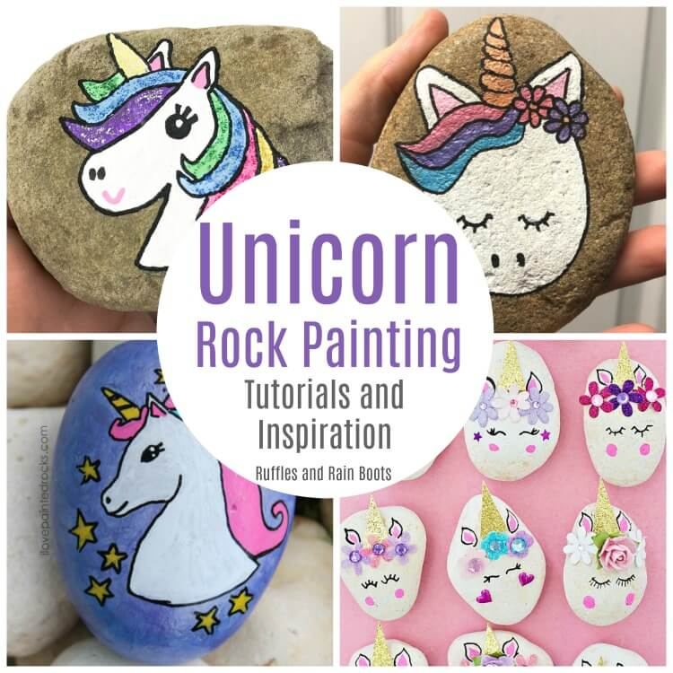 Unicorn Rock Painting Ideas – The Best of the Internet
