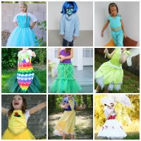 DIY Disney Costumes For Girls