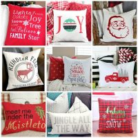 Cricut Christmas Pillow Projects – Ideas for the Holiday Season
