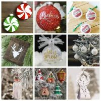 Cricut Christmas Ornament Projects – Holiday Fun!