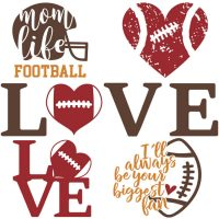 Free Football SVGs – Football Season Never Looked So Good!