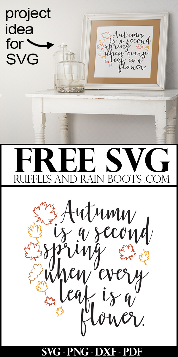 Get this free Autumn SVG and Fall hand lettered printable. You can even print it off completed and pop it in a frame. #freesvg #freefallprintable #freeprintable #falldecor #fallsvg #ilovefall #digitalcrafts #freesvgfiles