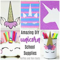 The Best DIY Unicorn School Supplies (and Beyond…)