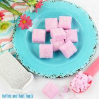You'll Love These Jasmine and Rose Sugar Scrub Cubes!