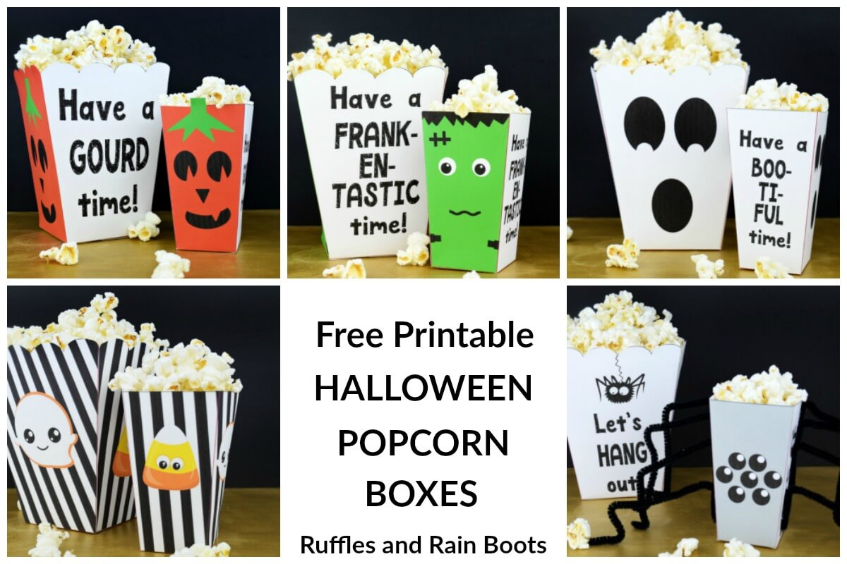 photo about Free Printable Halloween Crafts called Halloween Crafts and Meals