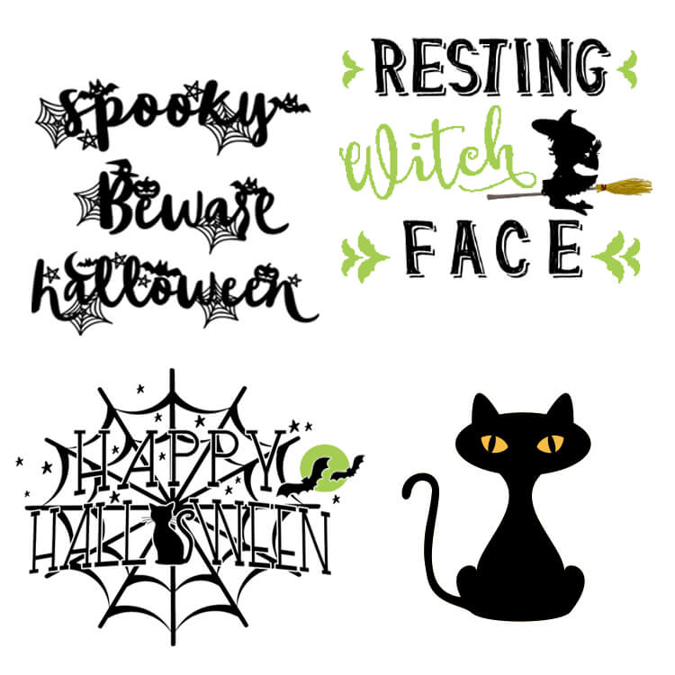 Free Halloween SVG and Cut Files
