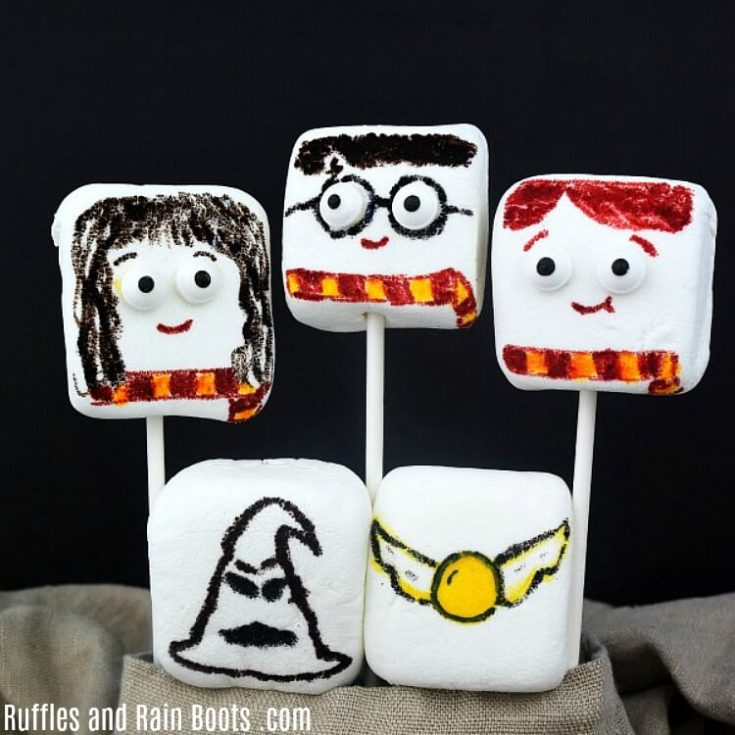 Harry Potter Marshmallow Craft