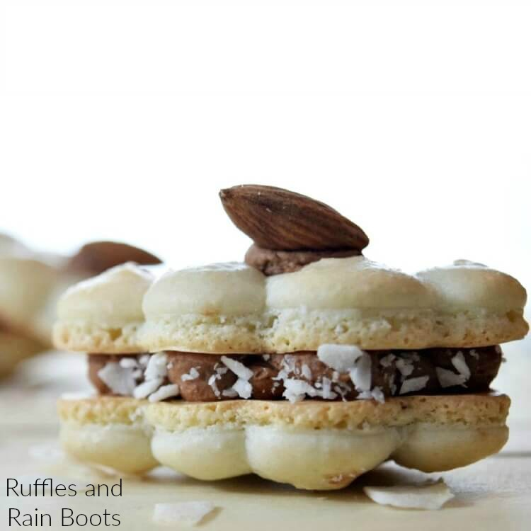 Almond Joy Macarons – The Cookie That'll WOW Everyone!