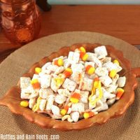 Candy Corn Puppy Chow Recipe – A Muddy Buddy Recipe for Fall