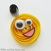 Quilled Monster Craft for Kids – An Easy Paper Quilling Craft