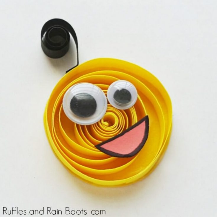 Quilled Monster Craft