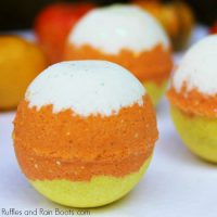 Candy Corn Bath Bombs – A Fall Bath Bomb Idea to WOW!