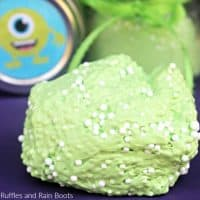 Monster Floam – Sensory Halloween Fun and a Printable!