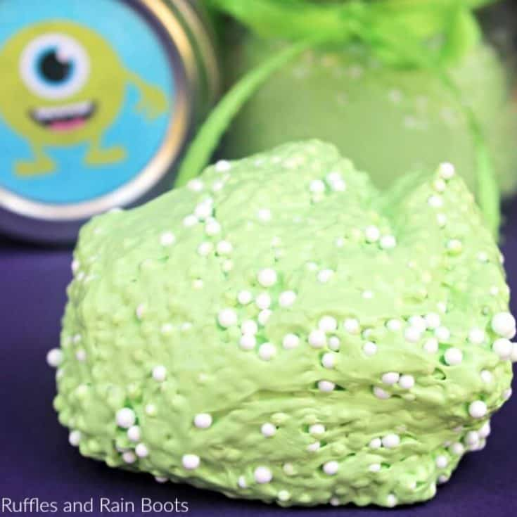 easy floam recipe with monster label